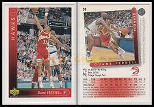 NBA UPPER DECK 1993/94 - Duane Ferrell # 38 - Hawks - Ita/Eng - MINT