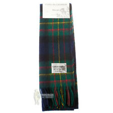SOFT CASHMERE CLAN SCARF - SCOTTISH FAMILY TARTANS - MACLAREN