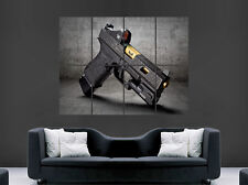 GLOCK 19 PISTOL GUN POSTER GIANT WALL ART PICTURE PRINT LARGE HUGE