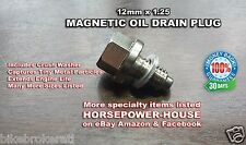 12mm 1.25 MAGNETIC OIL DRAIN PLUG BOLT @ SUZUKI SAVAGE LS650 DR200SE GZ250 S40