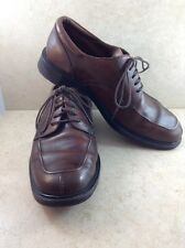 Bostonian Men's Leather Lace Up Brown Size 9 Shoes Works For Dress Or Casual