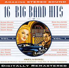 16 Big Band Hits - Big Band Era, Vol. 1 Various Artists MUSIC CD