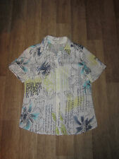 BONITA Bluse Crash - Optik Kurzarm Gr.M **NEU**