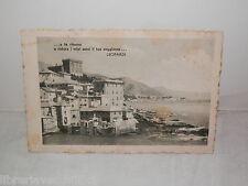 Vecchia cartolina foto d epoca di NMM RITORNO RISTORA SENSI SOGGIORNO LEOPARDI