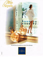 PUBLICITE ADVERTISING 035  1994  VAN CLEEF & ARPELS  parfum femme MISS