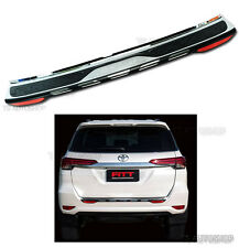 FITT REAR TAILGATE BUMPER GUARD COVER Fit TOYOTA FORTUNER SUV 2WD 4WD 2015 2016