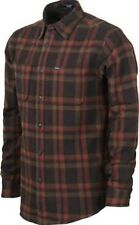 MATIX Lincoln Flannel Shirt (M) Tobacco