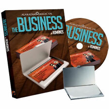 The Business (DVD and Gimmick) by Romanos and Alakazam Magic Trick Illusion