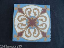 Ancien carreau de ciment époque Art-déco 1910/20