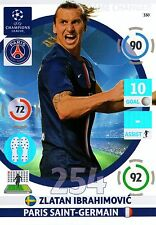 ADRENALYN CL 2014/15 # 254 GAME CHANGER IBRAHIMOVIC PSG MINT PERFECT!!!