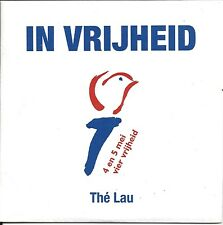 Thé Lau ‎– In Vrijheid cd single in cardboard
