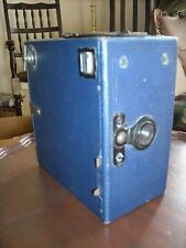 HOUGHTON BUTCHER Ensign BOX CAMERA e29 in Blu C. 1924-32 (cz80)