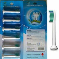 6 Toothbrush Heads Compatible With Philips HX6013/HX6016 Phillips Sonicare