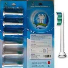 6 SPAZZOLINO DA DENTI TESTE Compatibile con PHILIPS HX6013 / HX6016 Phillips Sonicare