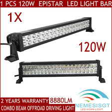 22inch 120W COMBO LED Work Light Bar Offroad Driving Lamp SUV Car Boat 4WD 180W