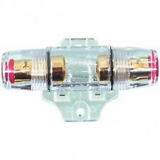 INLINE AGU GOLD PLATED HEAVY DUTY FUSE HOLDER  car amps
