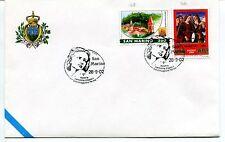 2002-09-28 San Marino 1°mostra cartolina d'epoca salsomaggiore ANNULLO SPECIALE