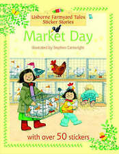 Market Day (Farmyard Tales Sticker Storybooks), Heather Amery, New Book