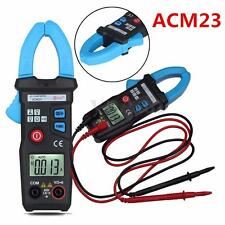 ACM23 AC Digital Clamp Meter Multimeter Current Voltage Resistance Tester+Box