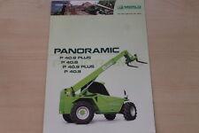 158449) Merlo Panoramic P 40.8 40.9 Plus Prospekt 05/2006