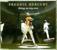 FREDDIE MERCURY 'LIVING ON MY OWN' 4-TRACK CD SINGLE