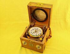 Very rare Russian Aviation ( marine ) chronometer KIROVA, USSR