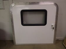 NEW RV 43 X 43 LOCKING ENTRY/ ENTRANCE DOOR CARGO CAMPER TRAILER TEARDROP 43X43