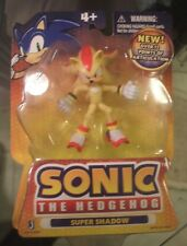 Sonic The Hedgehog Super Shadow Action Figure Jazwares Toy same as super pack