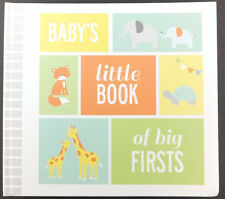 Baby's Little Book of Big Firsts Carters Photo Album Memory Book Journal Unisex