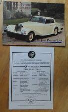 LEA FRANCIS ACE OF SPADES orig 1980s UK Mkt Brochure Leaflet + Spec Sheet