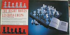 Juego de Mesa Ajedrez, Incluye Caja para guardar y 32 piezas en blanco y negro