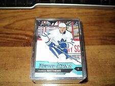 2016-17 COMPLETE SET OF YOUNG GUNS #201-250, AUSTIN MATTHEWS WOW!!!!