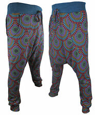 Nepalese Harem Ali Baba Retro Hippie Winter Low Crutch Wideleg Pants Trouser