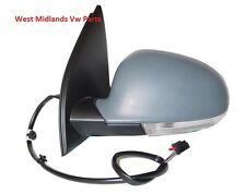 VW Golf MK5 04-09 PASSENGER SIDE HEATED  DOOR MIRROR NEW