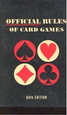 Official Rules of Card Games by The U.S. Playing Card Company (1974,Paperback)