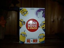 MINION MOVIE PACK DVD 6 MINI MOVIES FROM DESPICABLE ME AND DESPICABLE ME 2 NEW