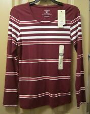 NEW SZ S/P DENVER HAYES WOMENS SOFT EVERYDAY TEE SHIRT TOP, FIT TO FLATTER, NWTS