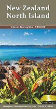 New Zealand, North Island Map 1:800,000