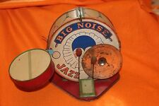 RARE VINTAGE 1930'S OLD J.CHEIN & CO. BIG NOISE JAZZ BAND DRUM SET TIN TOY