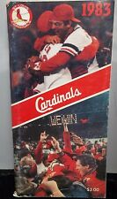 1983 St Louis Cardinals Media Guide VG