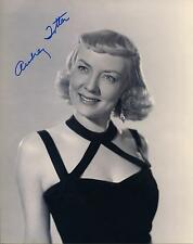 AUDREY TOTTER ACTRESS IN WAGON TRAIN & PERRY MASON SIGNED PHOTO AUTOGRAPH