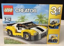 NEW & Sealed LEGO Creator Fast Car - 31046 Construction Toy (3 in 1) 222 Pcs.