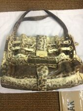 Jimmy Choo Python Riki Purse Golden Hardware Large Shopper - Originally $3,500