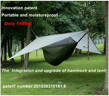 Naturehike 1 Person  Hammock with Bed Net  Portable Ultralight Hanging Tent