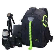 Viaggio DSLR Camera Zaino Laptop Obiettivo Borsa Custodia Per Nikon Canon EOS
