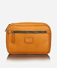Tumi Tan Leather Limited Edition Large Travel Kit Bag 055057TN New $295