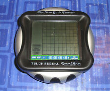 Sudoku Touch Screen Electronic Handheld Travel Game New York Times Excalibur
