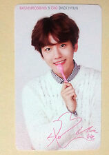 EXO K Baskin Robbins OFFICIAL PHOTO CARD  - Baekhyun  / Brand NEW *