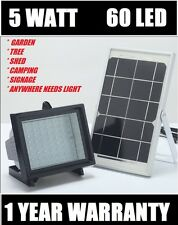 Bizlander® 5W60LED Solar Flood Light for Camping, Fishing Work light