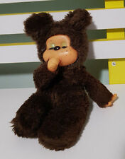MONCHICHI 1980'S SOOKY MONKEY PLUSH TOY SUCKS THUMB